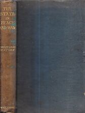 RARE 1919 GLASGOW SCOTLAND WORLD STATE PHILOSOPHY CANADA FIRST EDITION