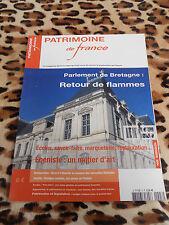 REVUE - PATRIMOINE DE FRANCE - n° 3, 2004 : Parlement de Bretagne