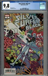 Silver Surfer: Black #3 CGC 9.8 NM/MT WHITE PAGES