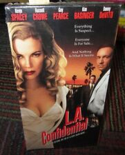 L.A. Confidential Vhs Video Movie, Kim Basinger, Russell Crowe, Kevin Spacey