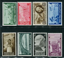 Albania 1939-1940 Air Mail MNH/MH VF Complete Set