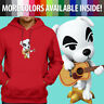 Animal Crossing K.K. Slider Guitar Music Cute Dog Unisex Pullover Hoodie Sweater