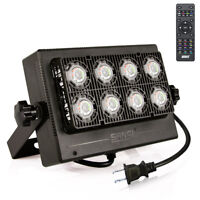 (1st Generation) SANSI 50W RGB LED Flood Light Outdoor 16 Colors Remote Control