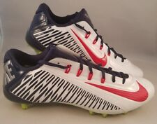 Nike Vapor Carbon Elite 2.0 TD Football Cleats Men's Size 15 Red White Navy Blue