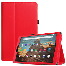 Funda para Amazon Fire HD 10 9th Gen 2019 Smart Piel Soporte Libro 7 , 8