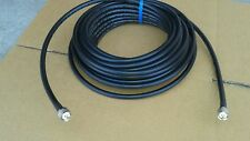 Times Microwave LMR-400 Ham Radio LMR  Antenna PL259 to PL259  coax cable 125 FT
