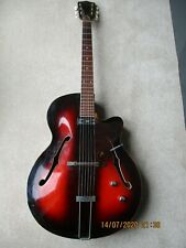 Framus Guitar:Vintage 1960s:RIVIERA:Archtop:Electro-acoustic:Good condition.