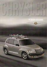 Chrysler PT Cruiser Accessories 2000-01 UK Market Foldout Sales Brochure