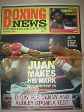 BOXING NEWS 7 FEBRUARY 2003 JUAN MANUEL MARQUEZ DEFEATS MANUEL MEDINA