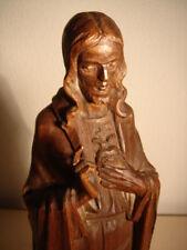 Schöne Heiligenfigur aus Holz geschnitzt