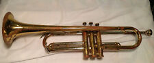 """Trumpet, Yale Super, 19"""" long, for parts or repair, #106933, brass"""