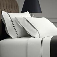 Renee Taylor Signature 1000 Thread count Egyptian Cotton Sheet Set Charcoal