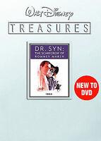 Walt Disney Treasures Dr. Syn The Scarecrow Of Romney Marsh 1964 DVD 2008 NEW!