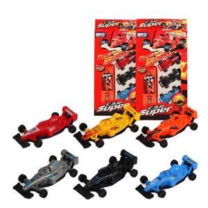 9pc Plastic Kids Cars Gift Set Xmas Formula F1 Racing Vehicle Children Play Toy