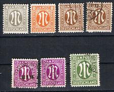 Echtheitsgarantie Briefmarken aus der US-& britischer Zone (ab 1945)