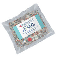 10 x 100cc PackFreshUSA OXYGEN ABSORBERS for Long Term Food Storage Mylar cans