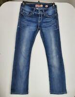 BKE Denim Womens size 28X30 color Dark Blue Stone Wash Sabrina Bootcut Jeans