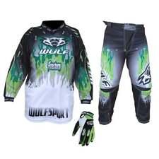Wulfsport Nuevo 2018 Firestorm Niños Jóvenes Motocross Pantalones,Jersey y