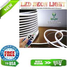 """LED NEON LIGHT, IEKOVâ""""¢ AC 110-120V Flexible LED Neon Strip Lights, 120 + #5DM"""