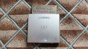 Onkyo MD-P30 Portable minidisc MD player with battery veryrare