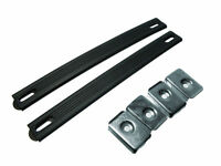 4 Paar Flacher Griff Riemen / Griff zu Anzug Tasche Flight Case Spieldose