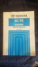 Toyota 3c-te Engine Repair Manual