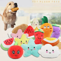 Pets Chew Training Props Dog Cat Squeaker Squeaky Toys Cute Soft Plush Toys