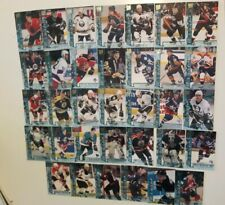Lot of 34 1995-96 Fleer Ultra Extra Rookies-ALFREDSSON+DOAN-NO DUPLICATES