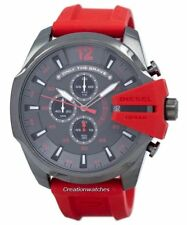 Diesel Mega Chief Timeframes Only The Brave Chronograph Quartz DZ4427 Mens Watch