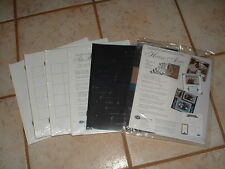 Lot Creative Memories Refill Pages NEW Lined/Calendar/Family Chart/Title Pages