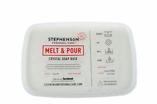 Melt and Pour Soap Base, Opaque White, SLS Free - 12KG Soap Making/Hobby/Craft