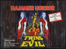 TWINS OF EVIL Movie POSTER 27x40 UK Madeleine Collinson Mary Collinson Peter