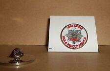 Derbyshire FIRE e Rescue Service bavero pin badge