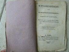CARMOUCHE / DUPIN / DE COMMAGNY : IL N'Y A PLUS D'ENFANS, 1818.