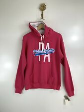 NWT PHILADELPHIA PA Extra Large Pink Hoodie Sweater American Crown LOGO