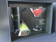 ABSOLUT GRCIC Vodka Martini Glas Set Gläser NEU OVP Longdrink Cocktail Sammler