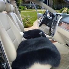 Real Australia Sheepskin Long Wool Front & Rear Car Seat Covers Universal Fit