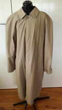 London Fog Size 14 light brown fully lined long jacket/coat