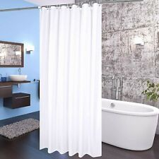 White Pave Deluxe Shower Curtain Liner Mildew Resistant and Antimicrobial 72'
