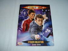 DOCTOR WHO MERLIN Sticker Collection & Album Book 2ND EDITION/STICKERS/TOPPS/BBC