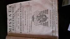 Missale Bituricense 1741