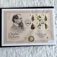 UK 2012 CHARLES DICKENS SILVER PROOF £2 - coin cover