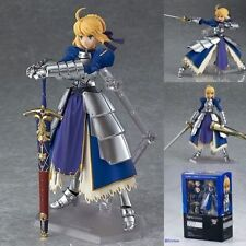 Anime Fate Stay Night Blue Saber Ver. 2.0 Figma PVC Figure #227