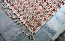 White Multe Cotton Floor Rug Mat Flatweave Kilim Carpet Moroccan Carpet 90*152cm