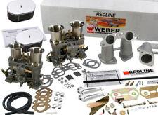 Weber Carburetor Kit Porsche 914 VW Bus, Type II, Type IV  Dual 48IDF weber kit