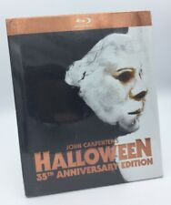 Halloween (Blu-ray Disc, 2013, 35th Anniversary Digibook) NEW OOP!