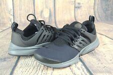 f5b996471452 Nike Air Presto GS Black Dark Grey Running Shoes 833875-013 Kids Sz 6Y