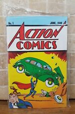 Superman Action Comics #1 Loot Crate June 1938 UNOPENED Reprint COA FREE SHIP!!!