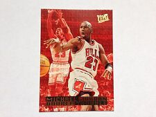 Michael Jordan Fleer Ultra 1995/96 Double Trouble Insert 3 of 10 Chicago Bulls