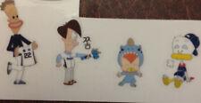 NC Dinos (Korea baseball KBO) stickers x 4